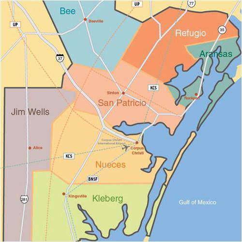 Maps Corpus Christi Texas Maps A Port Of Corpus Christi