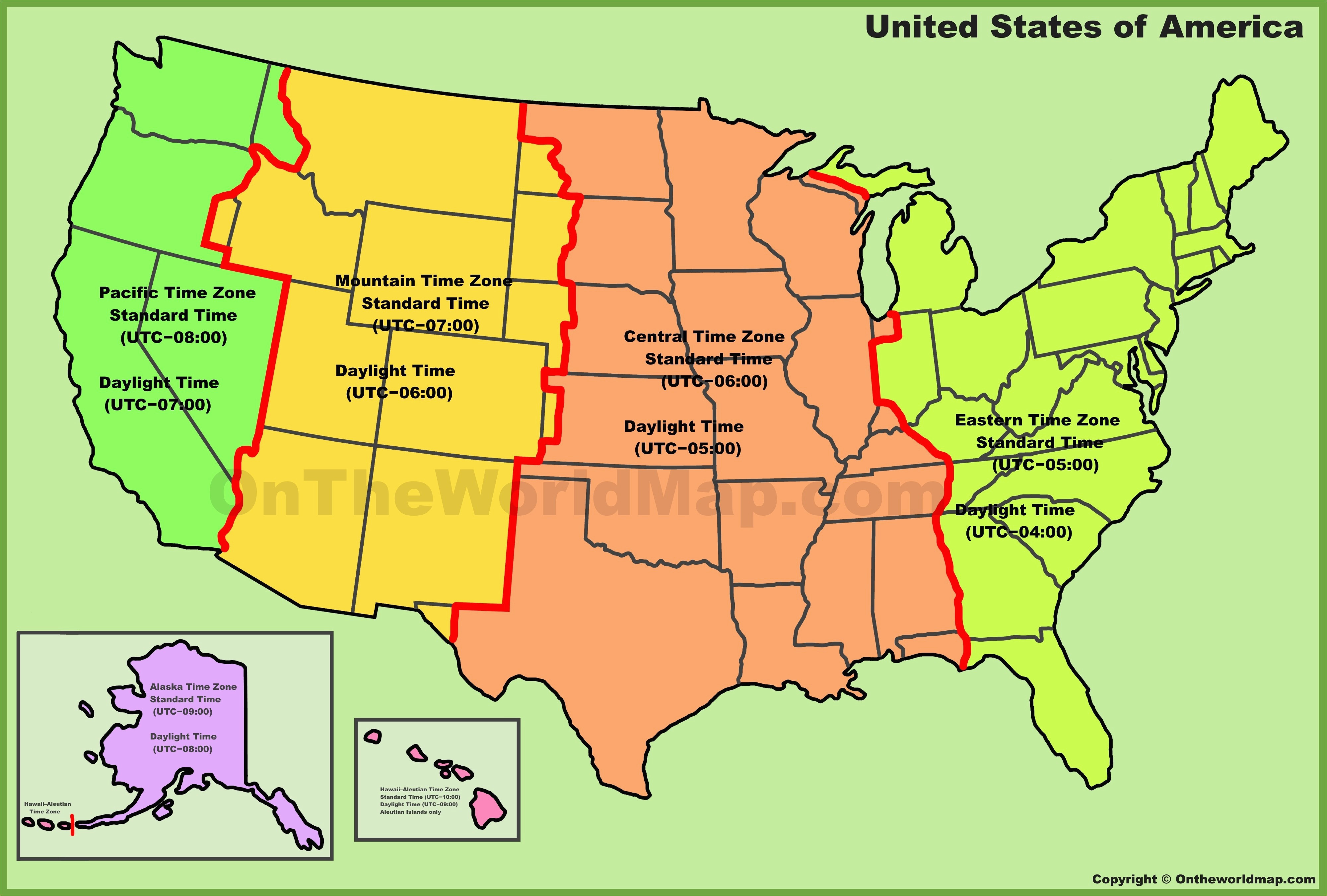 Memphis Tennessee Time Zone Map Us Time Zones Road Map Capitalsource ...