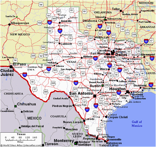 Map Of Midland Texas And Surrounding Areas.Midland Texas On Map