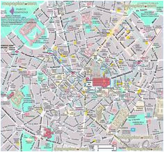 9 best milan map images milan map cartography drawings