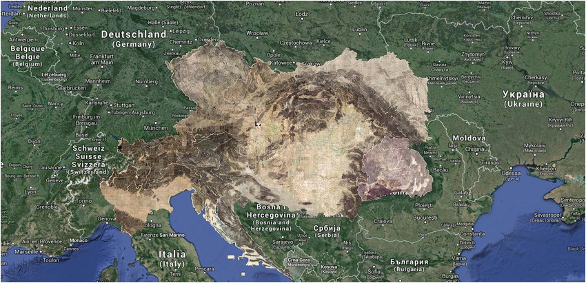 Modena Italy Map Google Territories Of the Second Military