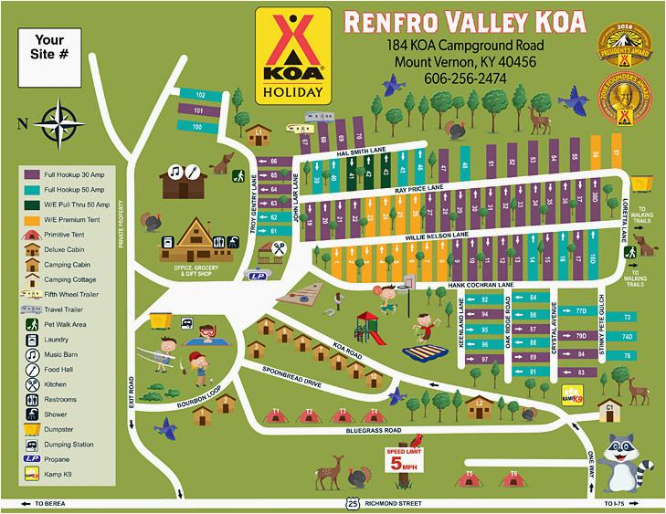 Mt Vernon Texas Map Koa Campgrounds California Map