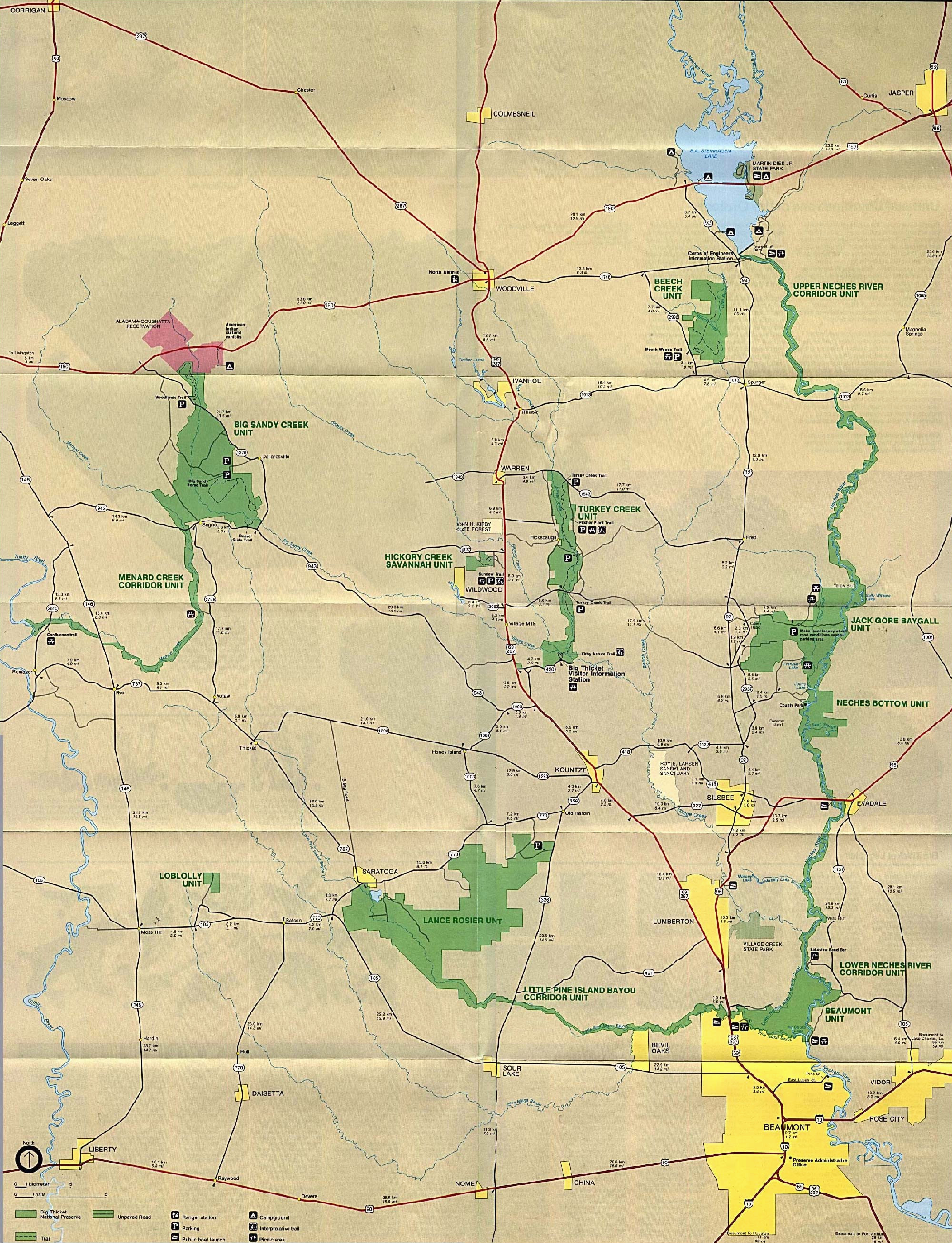 National Parks In Texas Map Maps Of United States National ...