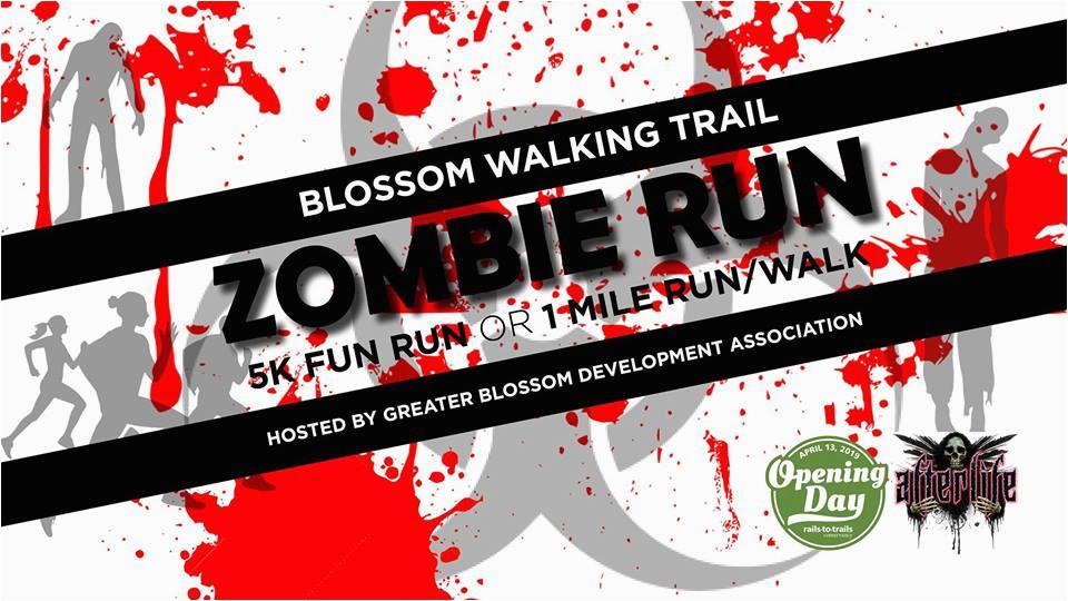 greater blossom development association zombie run 5k 1 mile fun