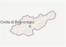 map of civita di bagnoregio italy italy orvieto and area