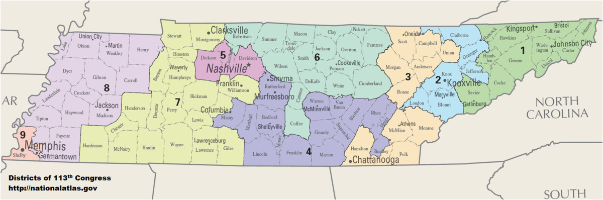 Paris Tennessee Map Tennessee S Congressional Districts Wikipedia ...