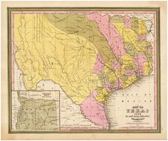 221 delightful texas historical maps images in 2019 historical