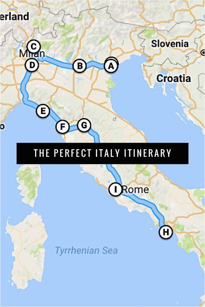 the best italy itinerary 3 weeks or less places i want to go