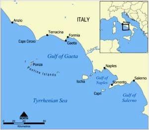 isole pontine ponza palmarola zannone italia gaeta gaeta