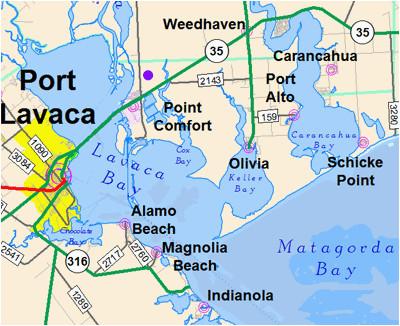 port lavaca texas map business ideas 2013