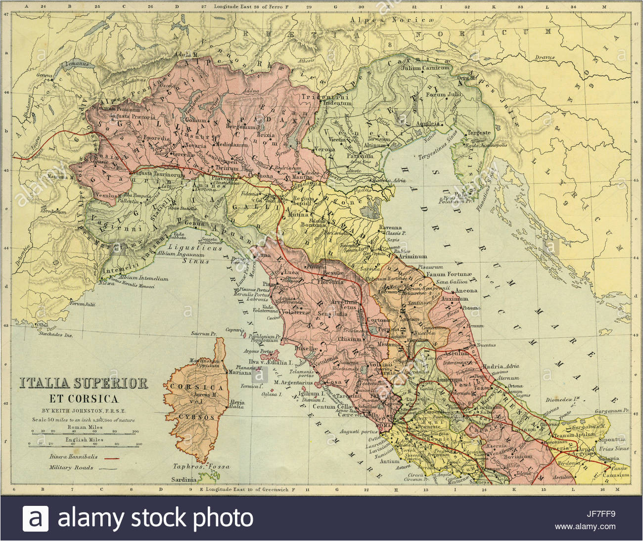 northern italy map stockfotos northern italy map bilder alamy