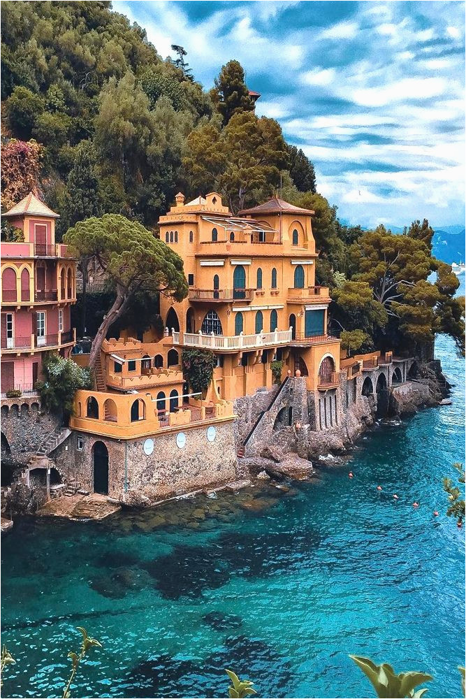 Portofino Italy On Map | secretmuseum