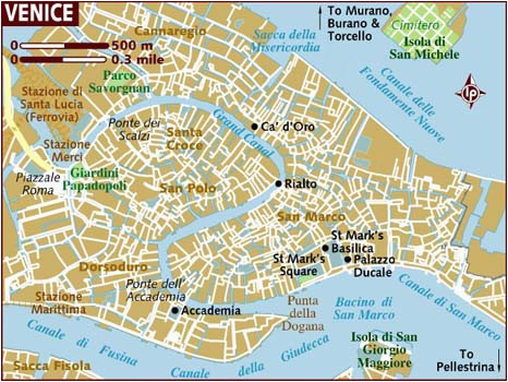 graphic regarding Printable Maps of Italy titled Printable Map Of Venice Italy secretmuseum