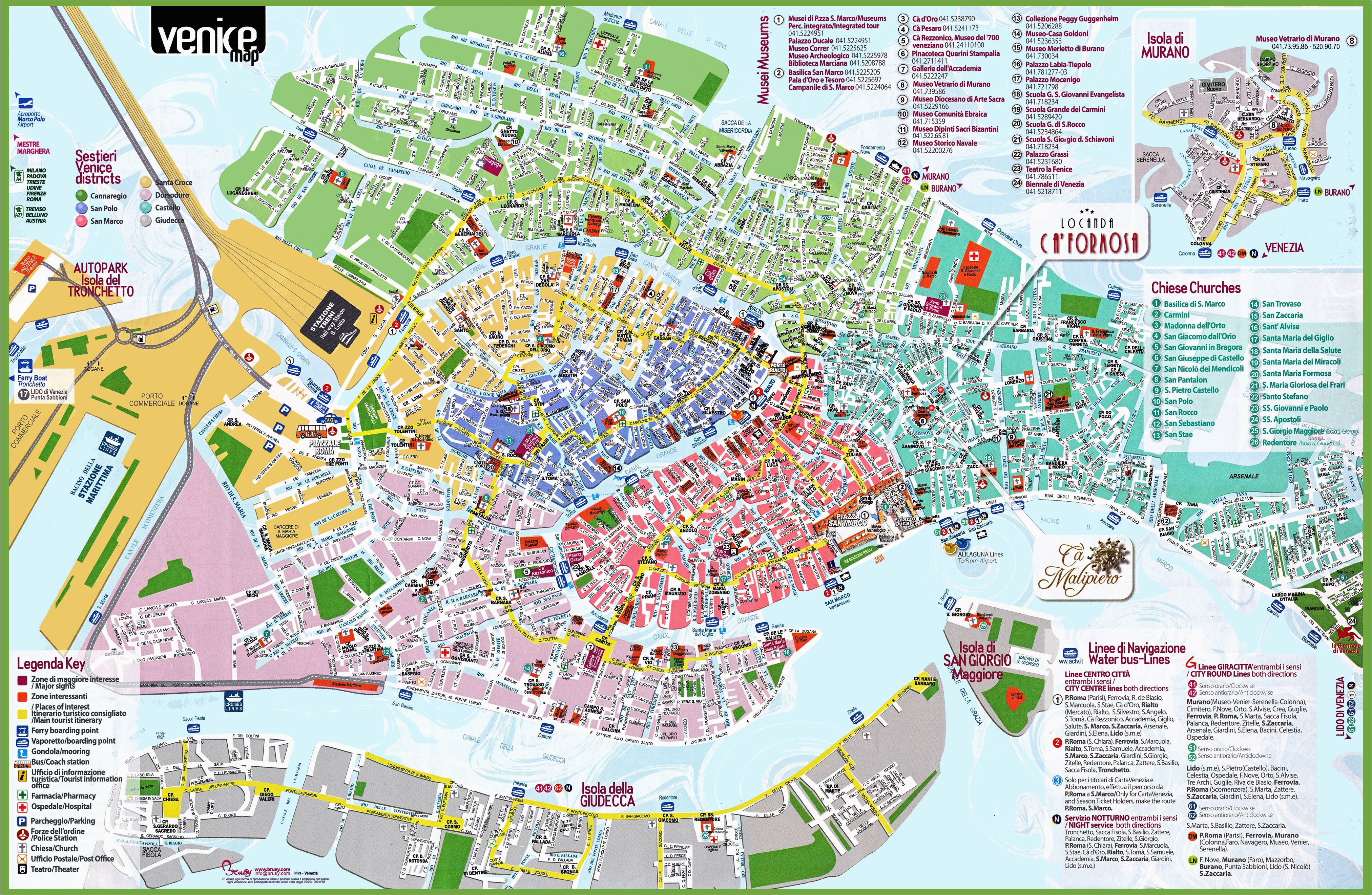 free printable map of venice italy download them and print