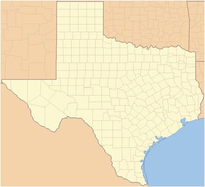 texas megyeinek listaja wikipedia