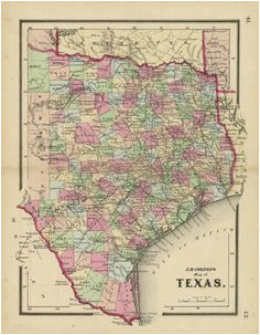 map antique texas first edition of first atlas map of texas as a
