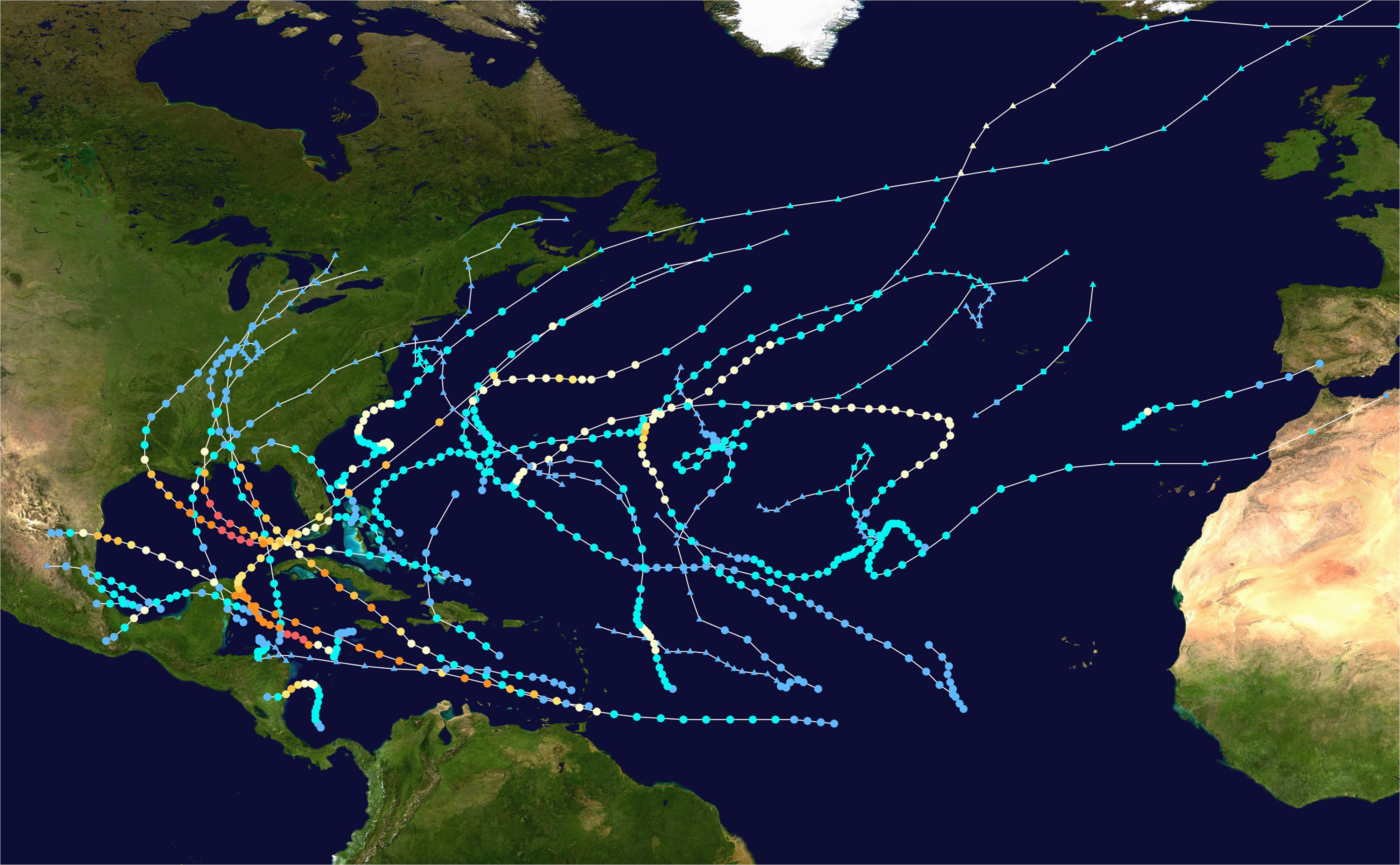 2005 atlantic hurricane season wikipedia