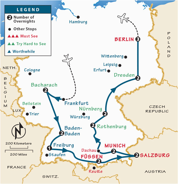 germany itinerary where to go in germany by rick steves