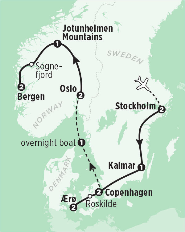 scandinavia tour norway sweden and denmark in 14 days rick