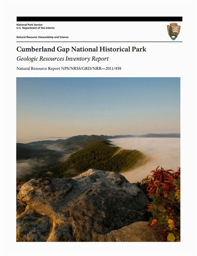 nps geodiversity atlas cumberland gap national historical park
