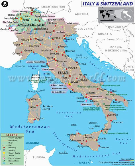 Detailed Road Map Of France.Road Map Of Switzerland And Italy Road Map Detailed Physical Map