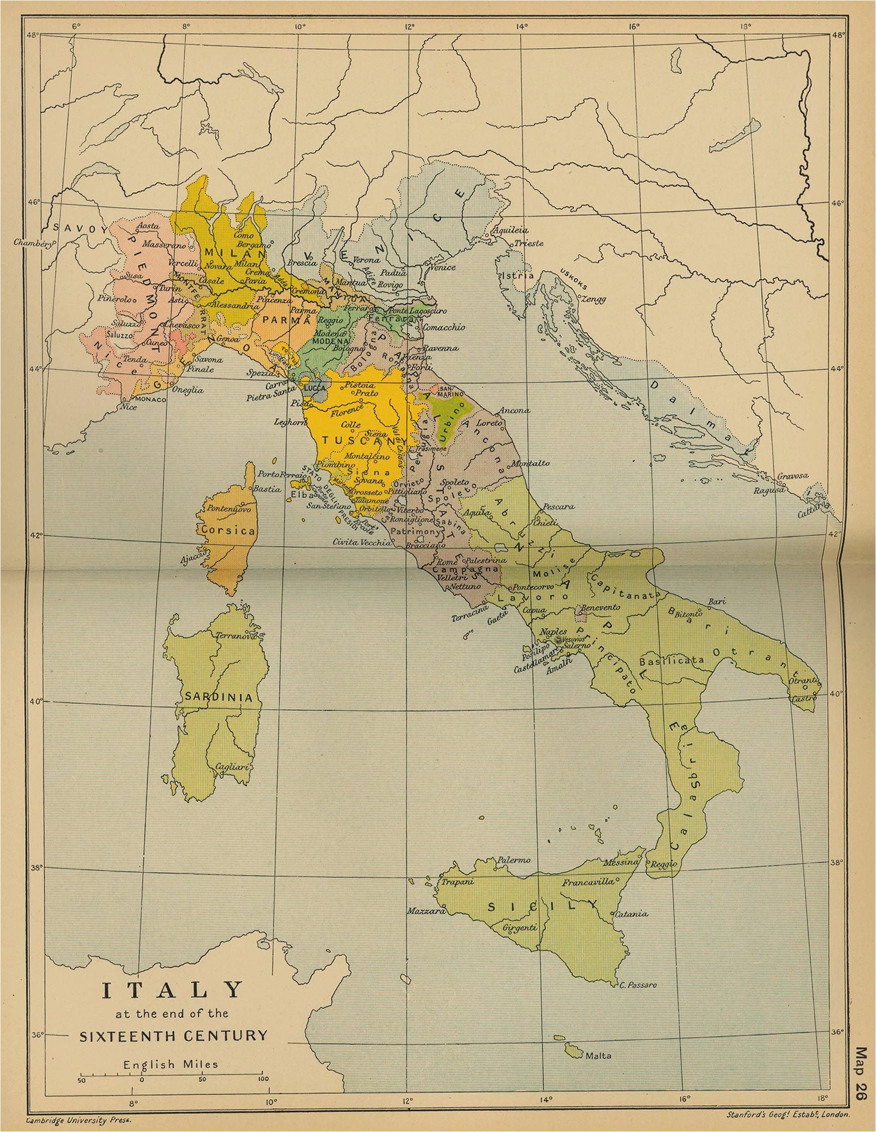 map of italy 16th century maps map italy map vintage world maps