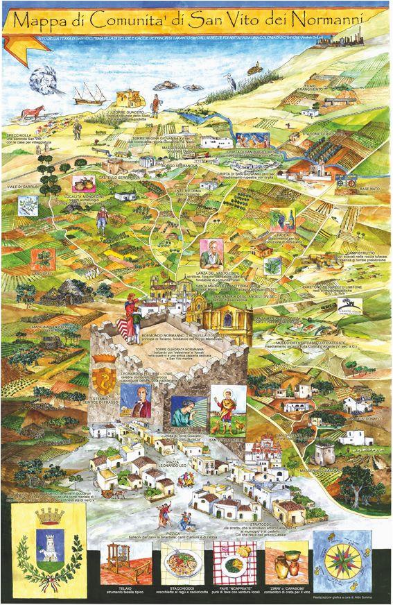 pin by aldo summa on maps mappe di comunita del salento puglia