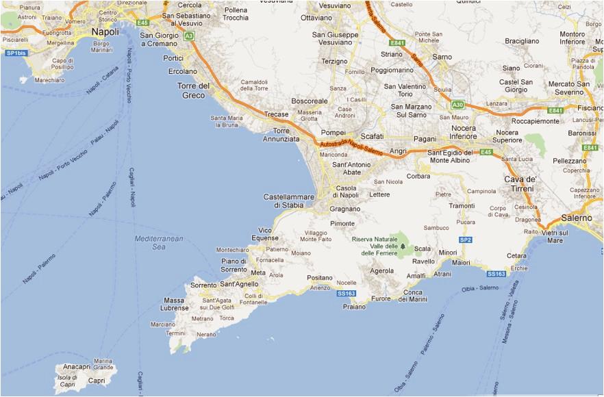 cruisers information port of naples amalfi salerno marina di stabia