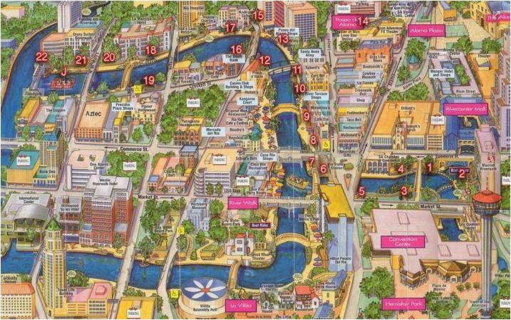 san antonio river walk map texas san antonio river san antonio