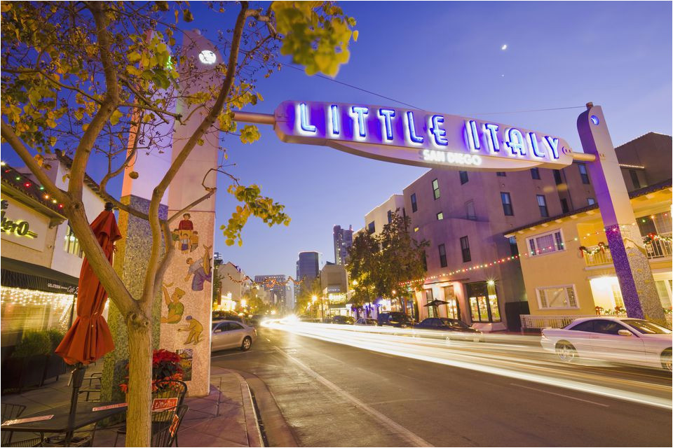 what to see and do in little italy san diego