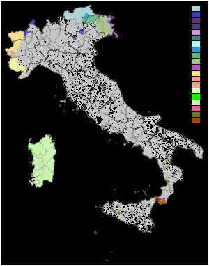 languages of italy wikipedia