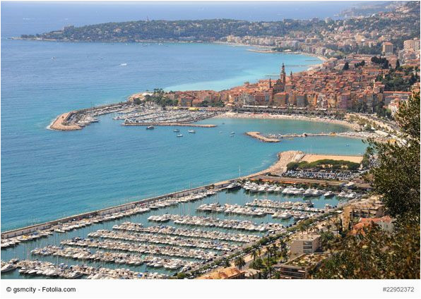 port of san remo italy the port sits in the center of this lovely