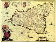 16 best historical maps of sicily sicilia images historical maps