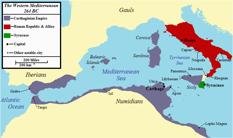 first punic war wikipedia