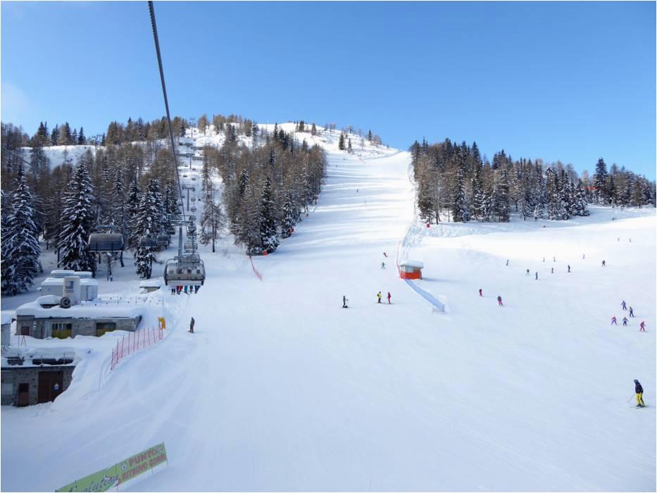 ski resort madonna di campiglio pinzolo folga rida marilleva skiing
