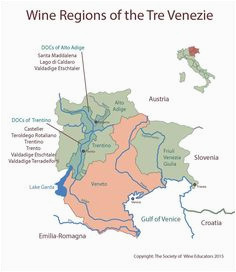 Soave Italy Map 239 Best Wine Related Maps Guides Images