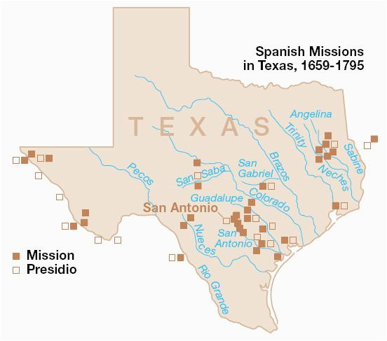 texas missions map business ideas 2013