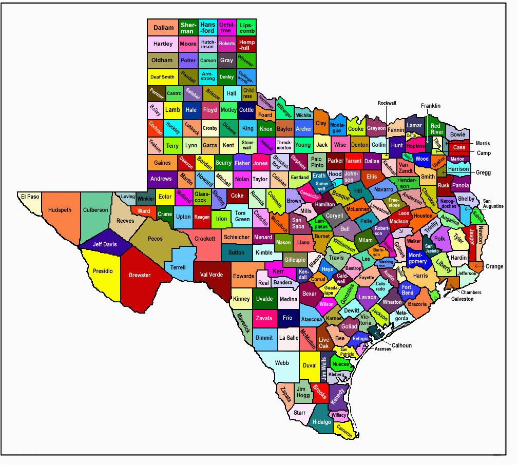 State Of Texas Map With Counties.State Of Texas Map With Counties Texas Map By Counties Business