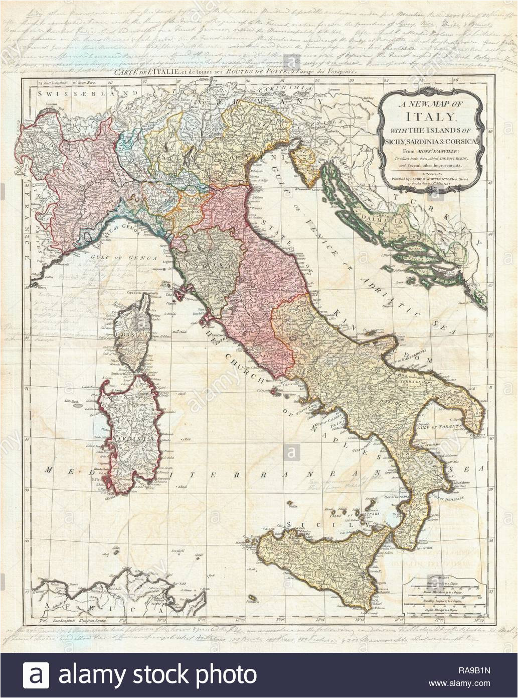 italy map historic stock photos italy map historic stock images