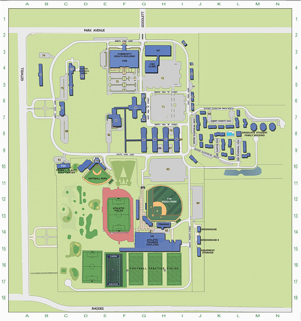 photograph regarding University of Arizona Campus Map Printable identify Tennessee Region Higher education Campus Map secretmuseum