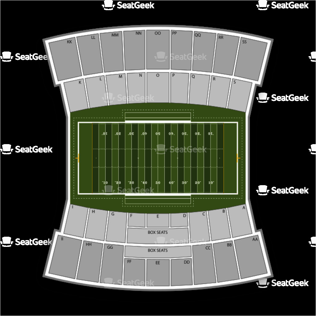 Tennessee Titans Stadium Map Joe Aillet Stadium Seating Chart