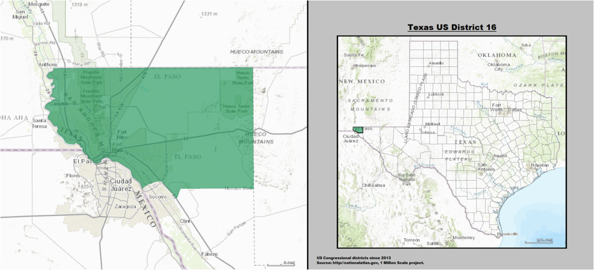 texas s 16th congressional district wikipedia
