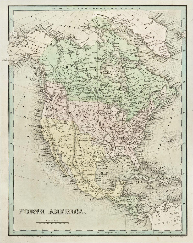the antiquarium antique print map gallery thomas bradford