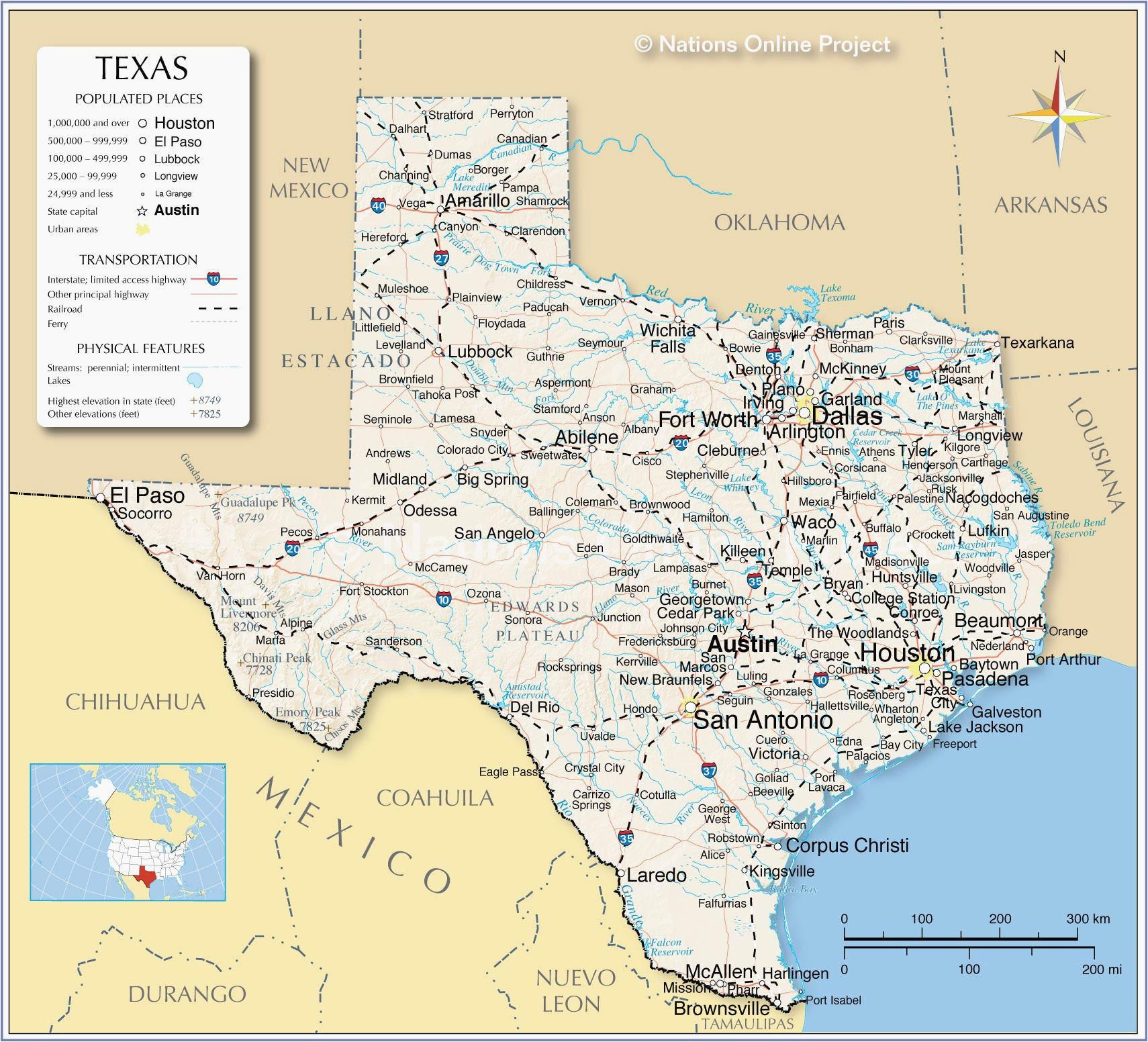 Texas and Arkansas Map California Caves Map Secretmuseum ...