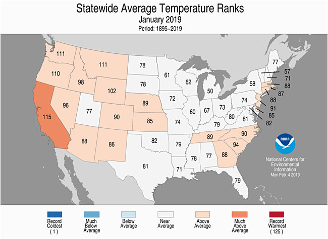national climate report january 2019 state of the climate