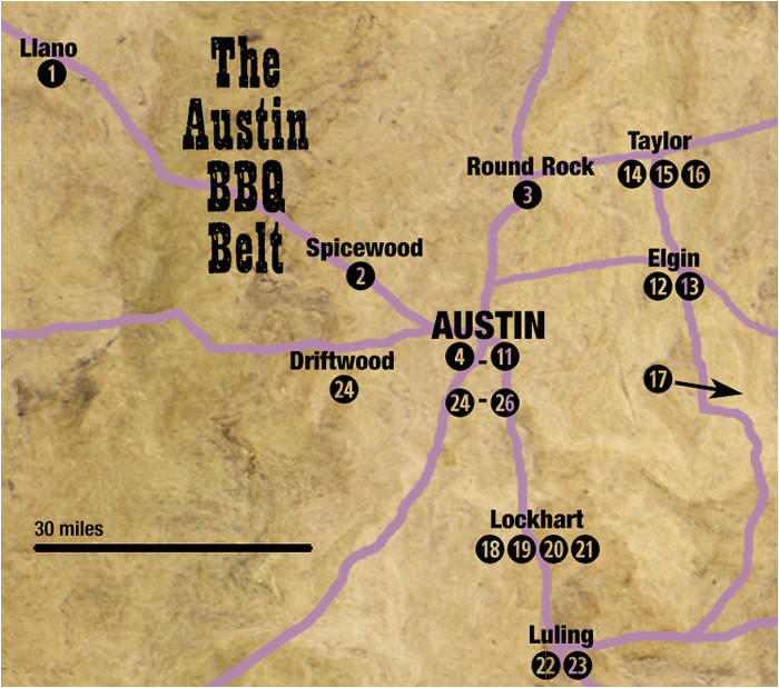 texas bbq trail map business ideas 2013