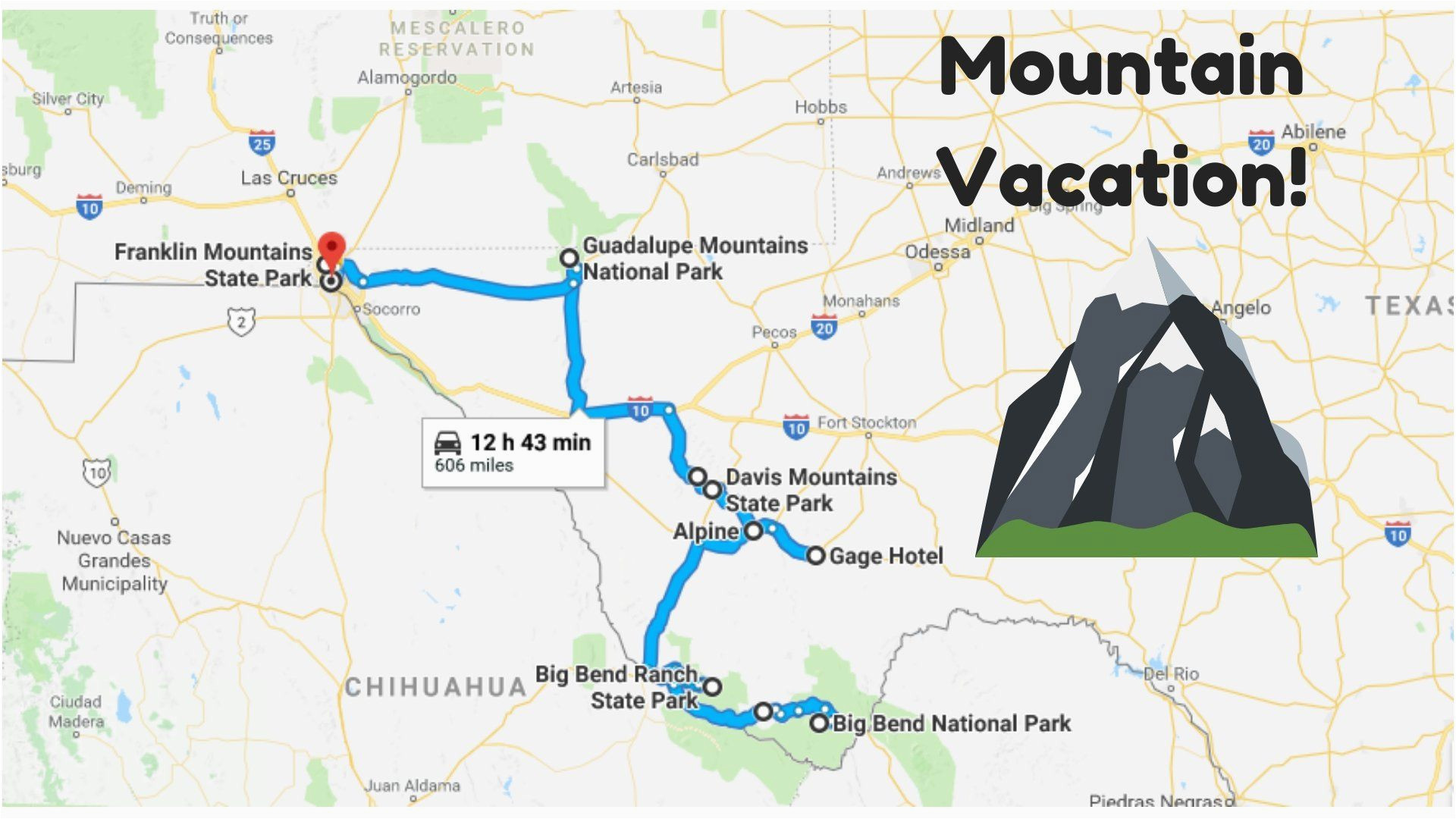 everyone from texas should take this awesome mountain vacation