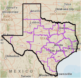 Texas Education Regions Map Texas School District Maps Business Ideas 2013