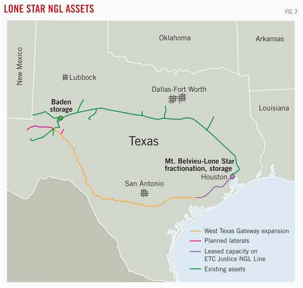 Texas Express Pipeline Map   secretmuseum