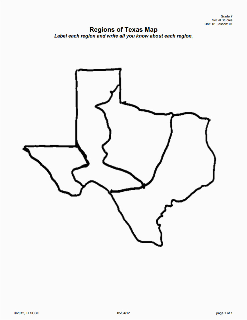 Map Of Texas 4 Regions.Texas Four Regions Map Map Of Texas Black And White